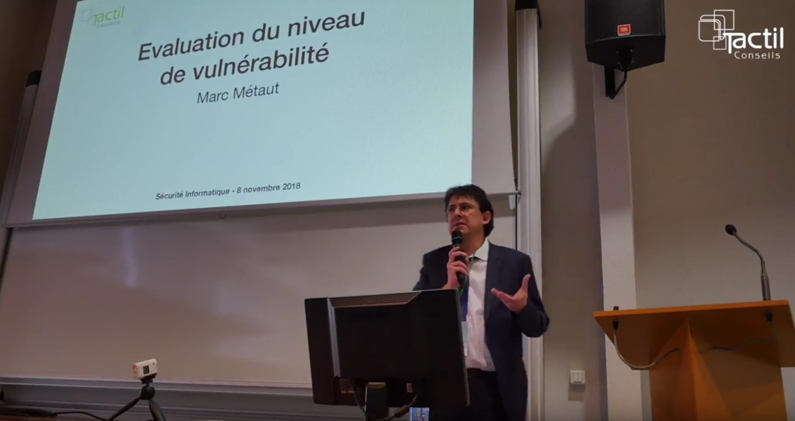 « Sécurité Informatique » Du 8 Novembre 2018 – Intervention Marc Métaut